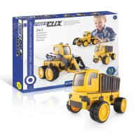Guidecraft™ PowerClix® Construction Vehicle Set G9460