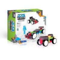 Guidecraft™ IO Blocks® Race Cars Set G9607