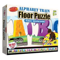 Giant Floor Puzzle, Alphabet Train A15-0867343117