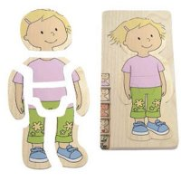 Girl Body Puzzle A70-BEL17128
