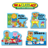 Good Manners Bulletin Board Set A15-1727