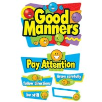 Good Manners Bulletin Board Set B56-8152