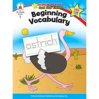 Gr 1 Beginning Vocabulary Home Workbook (A15-104358)
