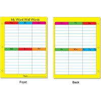 Gr 1-3 Portable Word Walls (A15-2030)
