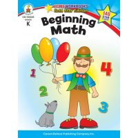 Gr K Beginning Math Home Workbook (A15-104345)