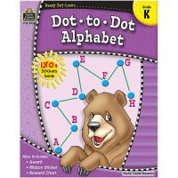 Gr K Ready Set Learn: Dot To Dot Alphabet (B54-5956)