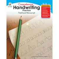 Gr K-1 Comprehensive Handwriting Practice Traditional Manuscript (A15-104248)