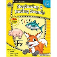 Gr K-1 Ready Set Learn: Beginning & Ending Sounds (B54-5952)