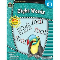 Gr K-1 Ready Set Learn: Sight Words (B54-5971)
