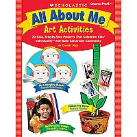 Gr Pk-1 All About Me Art Activities SCH-9780439531504