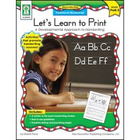 Gr Pk-2 Traditional Manuscript Let's Learn To Print (A15-KE804006)