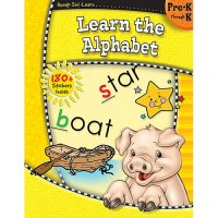 Gr Pk-K Ready Set Learn The Alphabet (B54-5915)