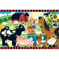 Happy Harvest Farm Floor Puzzle 24 pcs D54-24424