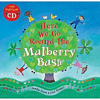 Here We Go Round The Mulberry Bush Book & CD I23-9781846860799