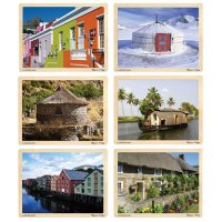 Homes Around The World Puzzle Set D54-1289