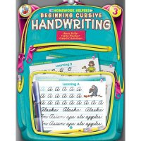 Homework HelpersBeginning Cursive Handwriting 3 Workbook (A15-FS109044)