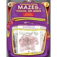 Homework HelpersMazes Puzzles and Games 2 Workbook A15-FS109040