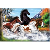 Horses Floor Puzzle 48 Pcs MD-20426