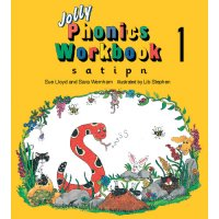 Jolly Phonics Workbook 1 In Print Letters (E71-989)