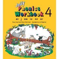 Jolly Phonics Workbook 4 In Print Letters (E71-012)
