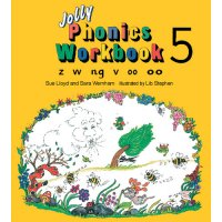 Jolly Phonics Workbook 5 In Print Letters (E71-020)