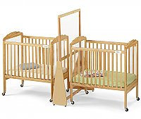 Small  See Thru Crib Divider Natural1654JC