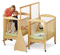 Large See Thru Crib Divider Natural 1655JC