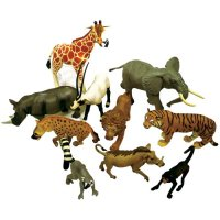 Jungle Animal Replica Set D64-95028S