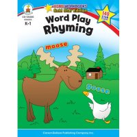 K-Gr 1 Word Play: Rhyming Home Workbook (A15-104350)