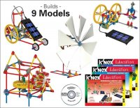 K'NEX Renewable Energy Model Building Kit - Set of 550 78976