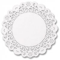 "8"" Brooklace® Lace Doily LA908"
