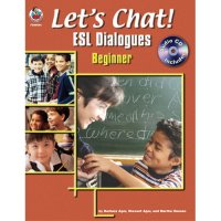 Let's Chat! ESL Dialogues Beginner Book (A15-FS99544)