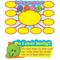 Let's Talk About Bullying Bulletin Board Set T-8213