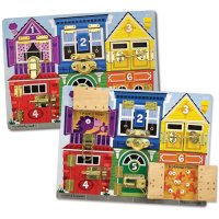 Locks & Latches Board Puzzle D54-23785