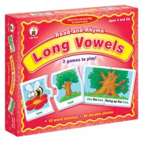 Long Vowels Read and Rhyme A15-3119