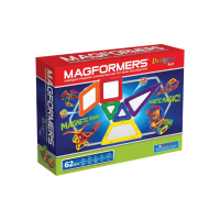 Magformers Magnetic Building Construction Set - 62 Piece Designer Set PW-63081
