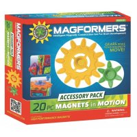 Magformers Magnets in Motion 20 pc Accessory Set PW-63201