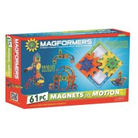 Magformers Magnets in Motion 61 pc Set PW-63205