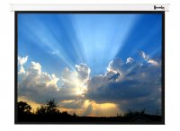 Magnifica Electric Screen Video (1:1) Format with IR Remote - 701XXX Size Option Available