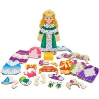 Magnetic Princess Elise Dress Up Set Melissa & Doug D54-23553