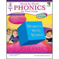 Month By Month Phonics For First Grade (A15-104275)