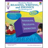 Month By Month Reading Writing & Phonics For Kindergarten (A15-104274)