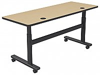 Adjustable Sit Stand Flipper Table 72 x 24 BALT 90317