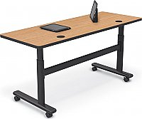 Adjustable Sit/Stand Flipper Table 60 x 24 Balt 90316