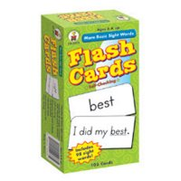 More Basic Sight Words Flash Cards (A15-3911)