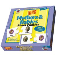 Mothers & Babies Think Match & Learn Photo Puzzles A15-FS013477