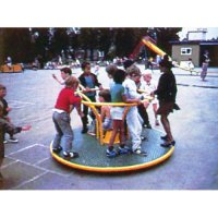 Multi Cultural Children At Play Roundabout Puzzle B31-WT459