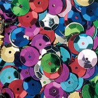 Multi-colour 1 oz Cupped Sequins R-6132