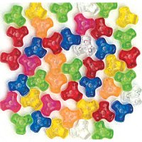 Multi-colour Tri Beads 1000 pcs CK-3558