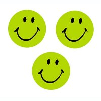 Neon Green Smiles Superspots B56-46140
